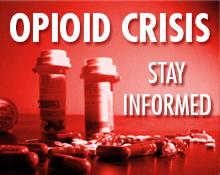 opioid crisis button