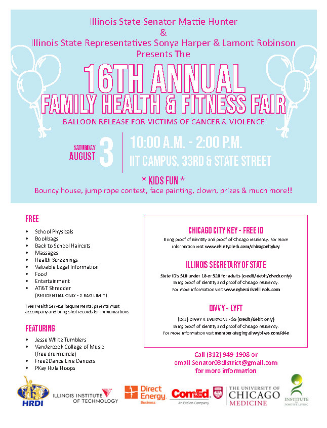 Hunter Family Health Fitness Fair
