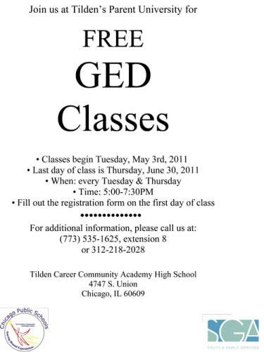 free online ged classes for adults